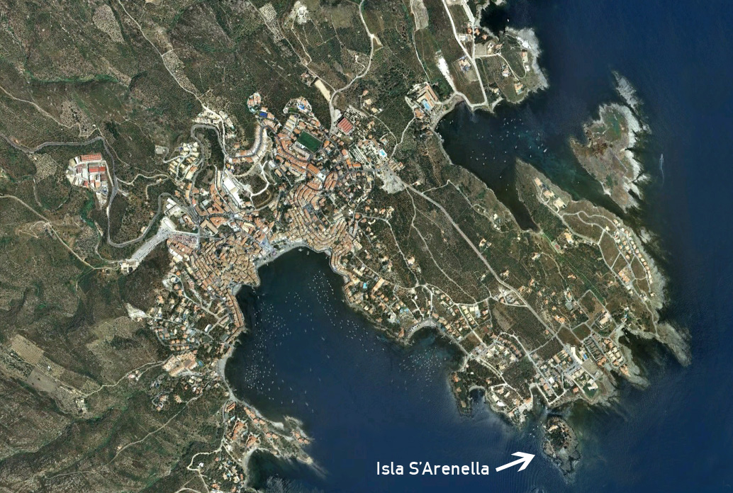 Aerial Photo of Isla S'Arenella